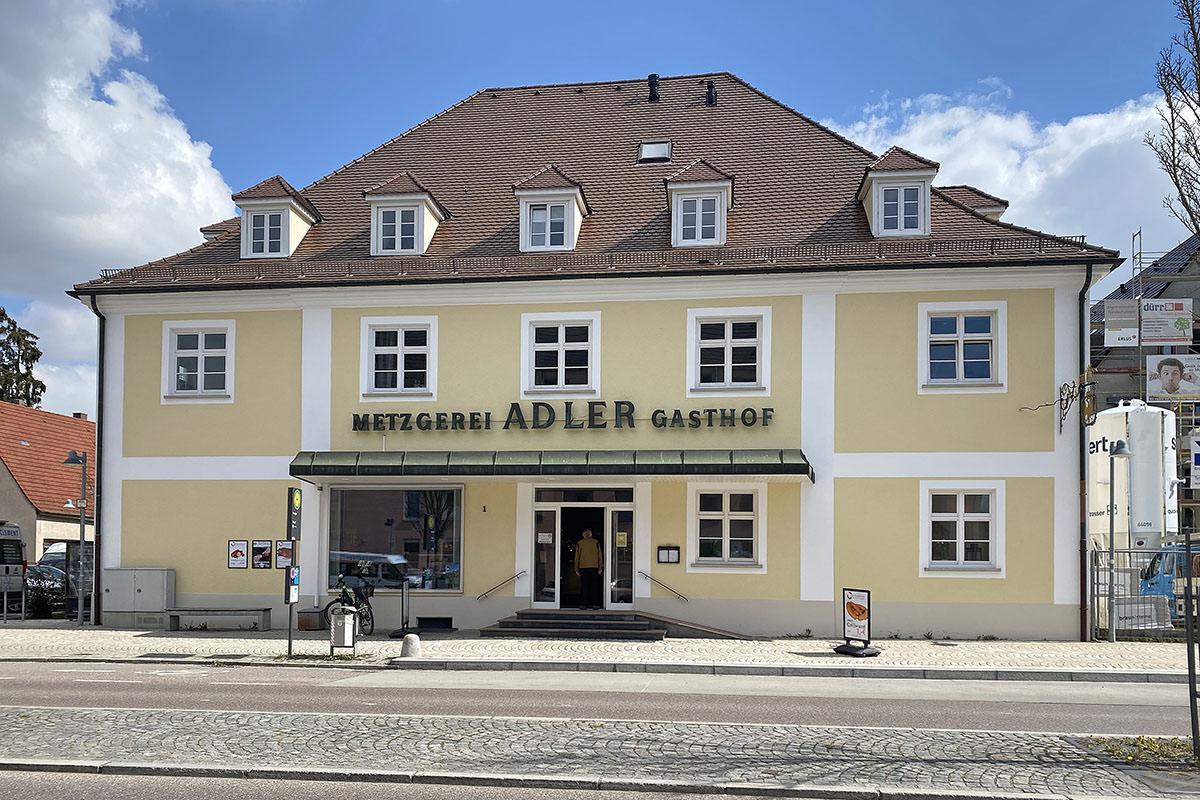 Metzgerhans am Pranger in Ulm-Wiblingen
